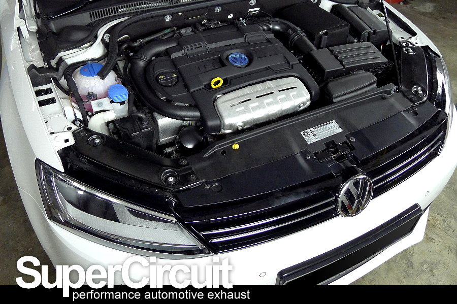 The Vw Jetta 1 4 Tsi Factory Stock Downpipe With Catalytic Converter Shown Below