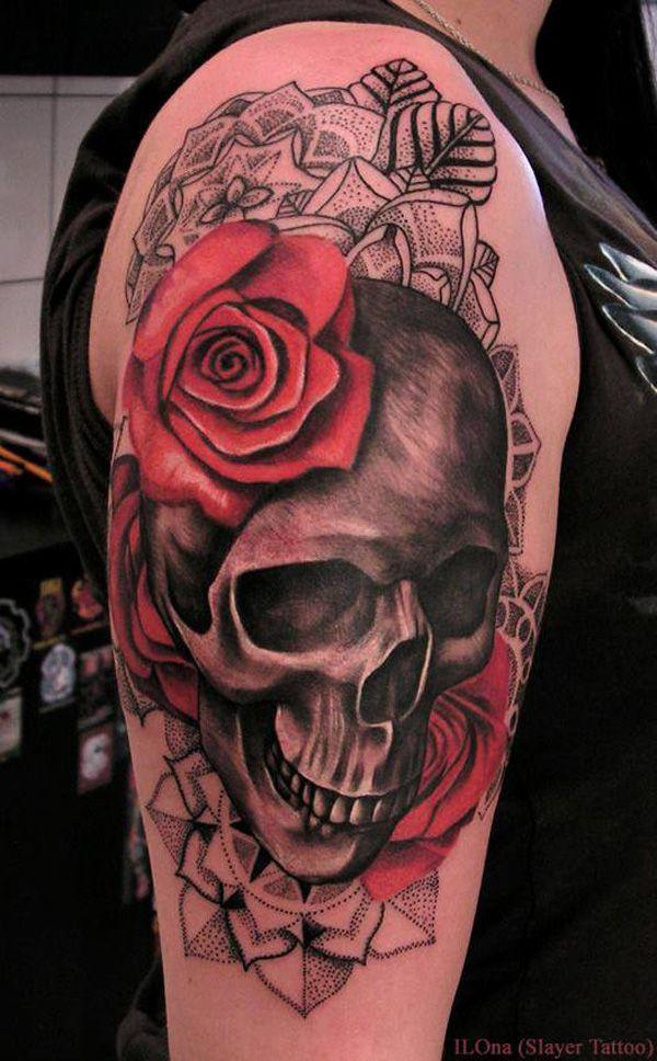 Espectaculares Tatuajes De Calaveras Y Todo Su Significado