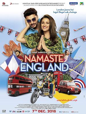 Namaste England 2018 Hindi Movie Pre-DVDRip 400Mb Download