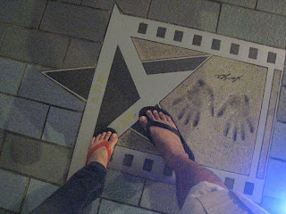 The Avenue of stars, Tsim Sha Tsui, ฮ่องกง