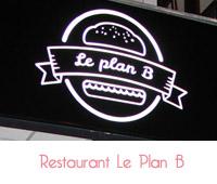 restaurant le plan B