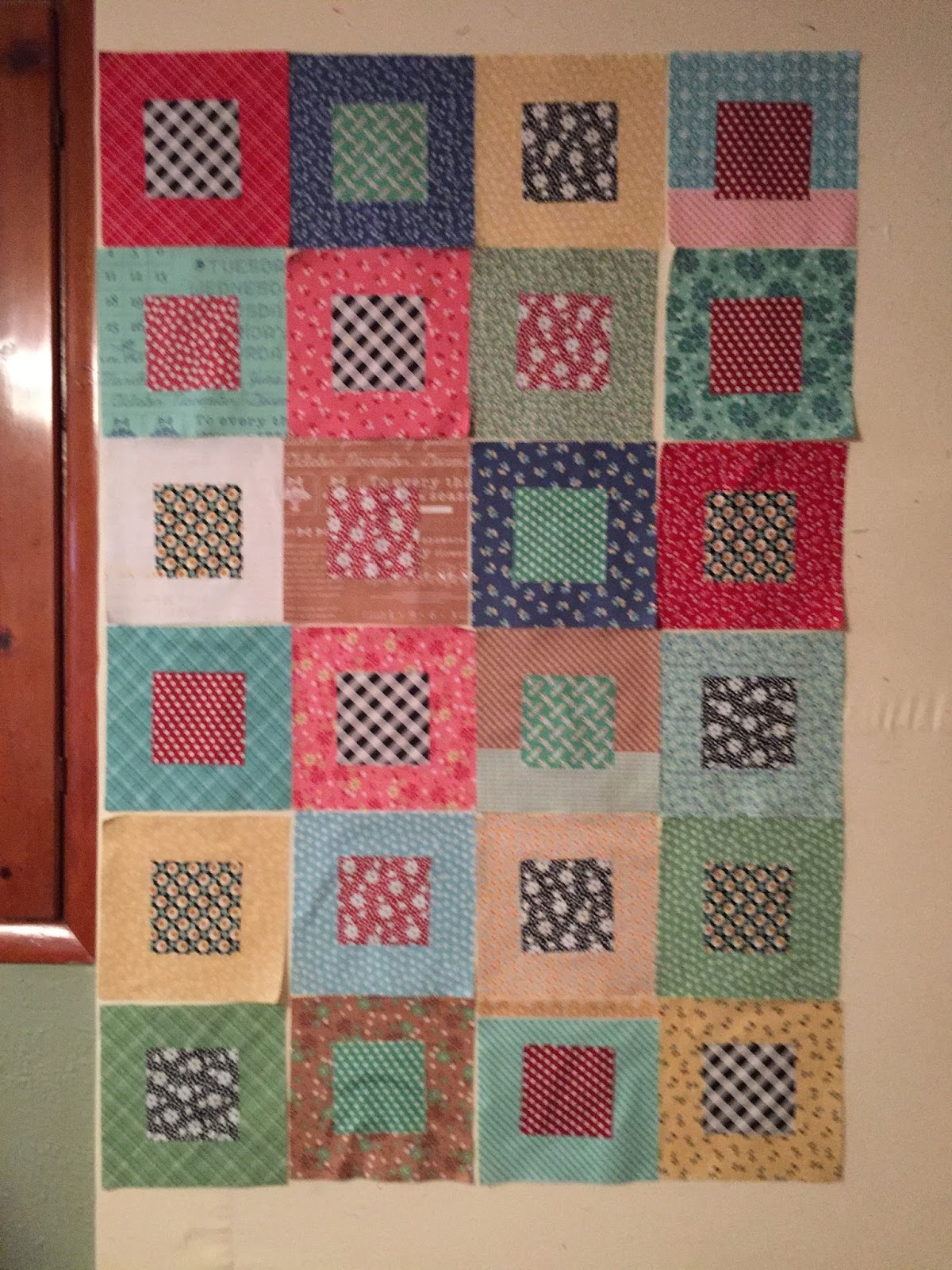Val's Quilting Studio : WIP: Five and Dime Quilt
