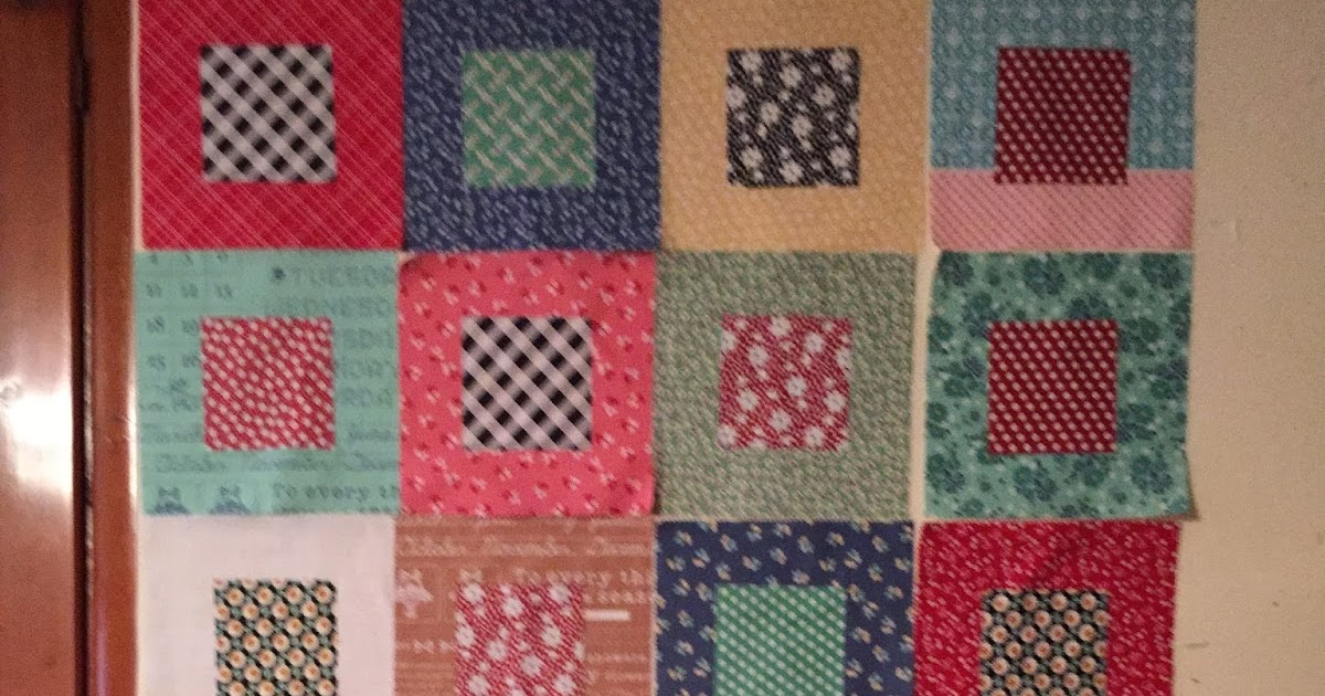 Val S Quilting Studio Wip Five And Dime Quilt