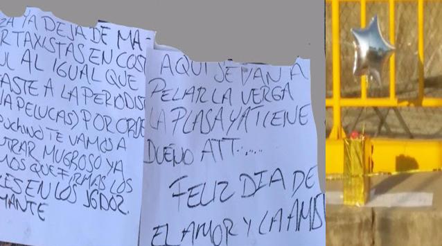 Feliz día del Amor y la Amistad dejan cabeza cercenada dentro de una caja de regalo y un globo en Acapulco