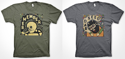 The Mike Egan T-Shirt Collection by CommonWealth Press - Remember & Bad Seed