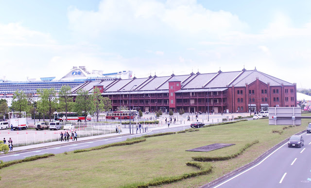 yokohama red brick warehouse history