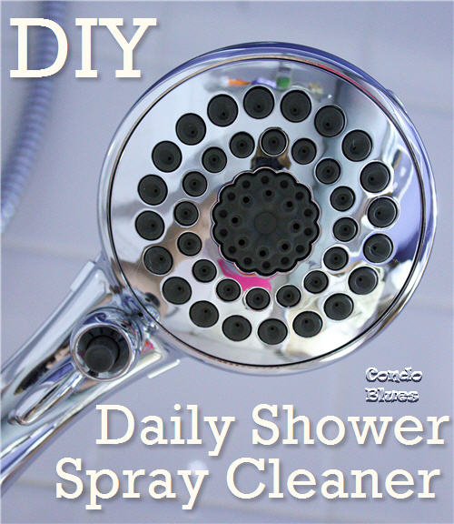 homemade nontoxic daily shower cleaning spray