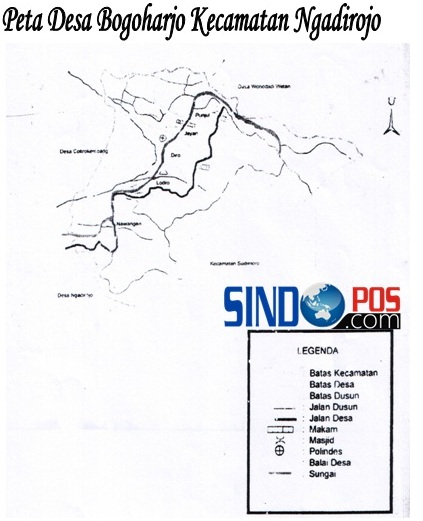 Profil Desa & Kelurahan, Desa Bogoharjo Kecamatan Ngadirojo Kabupaten Pacitan