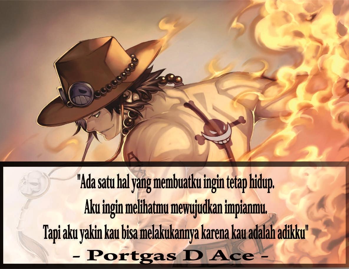 Gambar Kata Kata Bijak One Piece