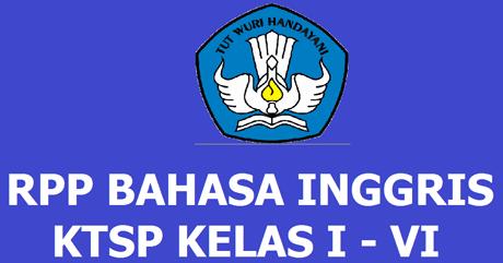 RPP Bahasa Inggris SD/MI Kelas 1 - 6