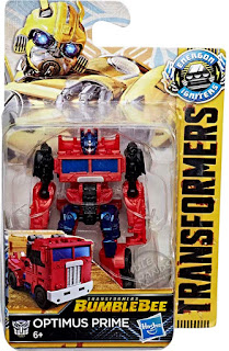 Hasbro Transformers Bumblebee Movie Speed Series Optimus Prime 001