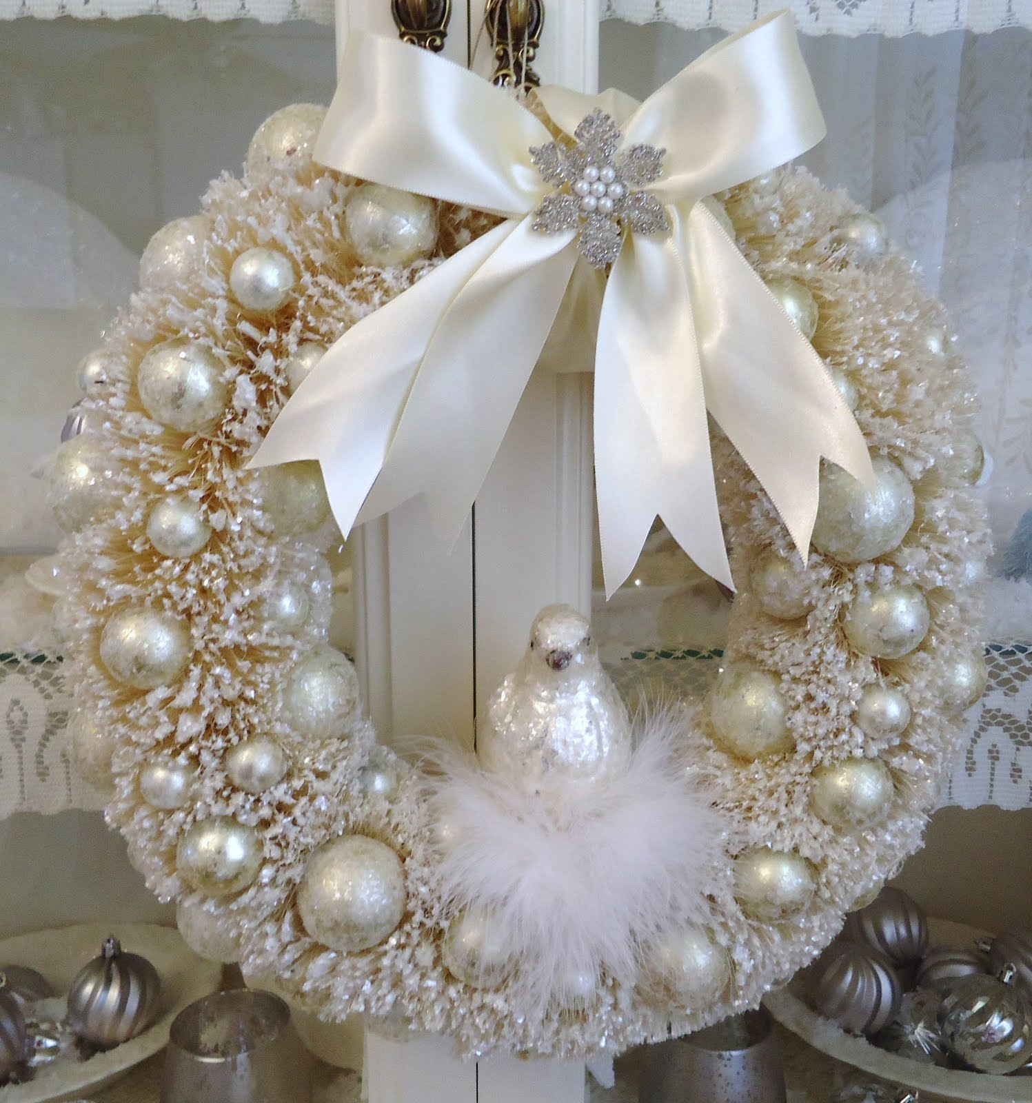 Pearl Garland For Christmas Tree: Tammy's Heart: More Christmas Beauties
