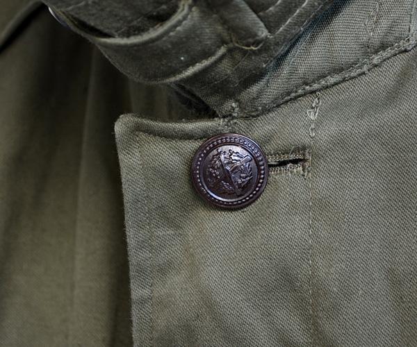 デッドストックヴィンテージ70年代ユーロミリタリーフィールドコートUSAFトレンチステンカラーFUNS福島
