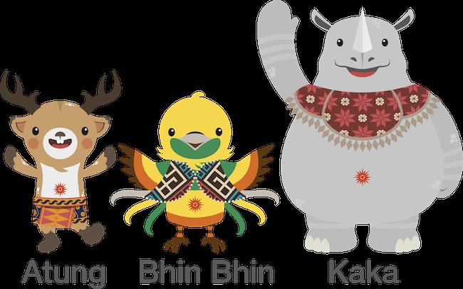 Tiga Maskot Asian Games 2018 Dengan Energi Berbeda