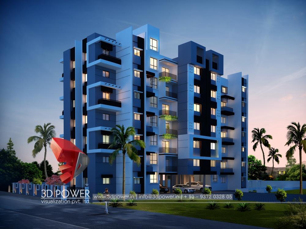 Apartment Elevation Designing Views