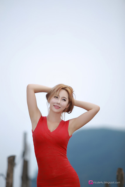 5 Lee Ji Na - Outdoor - very cute asian girl-girlcute4u.blogspot.com