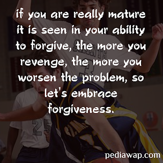 SHORT QUOTES ON FORGIVENESS