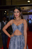 Rhea Chakraborty in a Sleeveless Deep neck Choli Dress Stunning Beauty at 64th Jio Filmfare Awards South ~  Exclusive 025.JPG