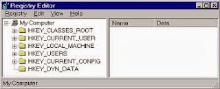 Kumpulan dan Cara Manipulasi Regedit Pada Windows
