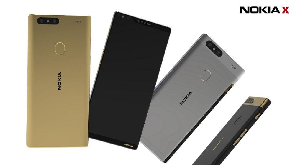 Nokia X RAM 6G Bakal Mencabar iPhone X?