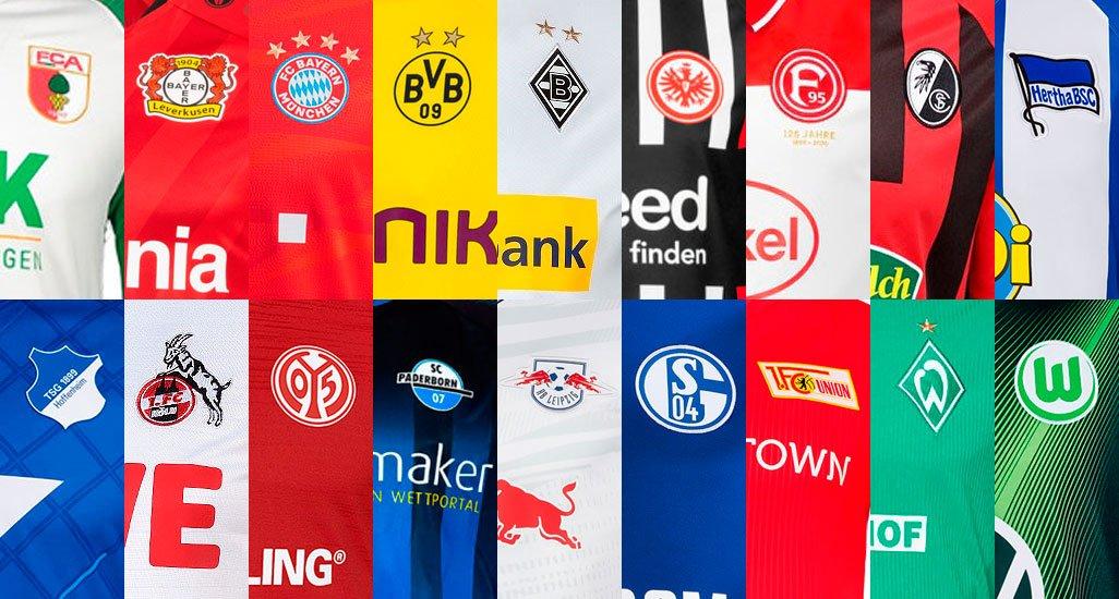 All 19-20 Bundesliga Kits - Overview | 54 Home, Away & Third