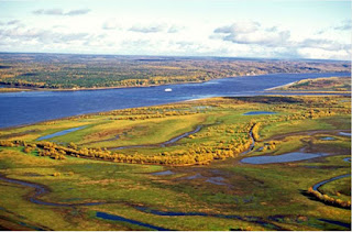 Ob - dòng sông lớn nhất ở Nga
