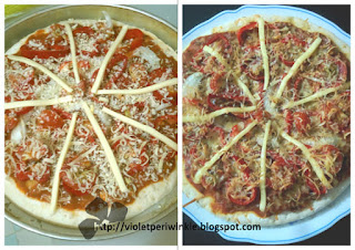 fake bake pizza