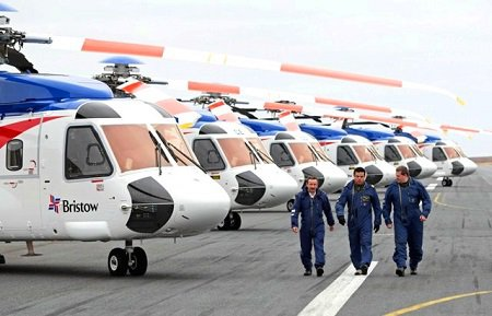 NAAPE shuts down Bristow Helicopters, over 50 aircraft grounded