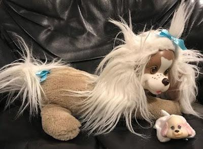 Мягкая игрушка собачка с щенятами