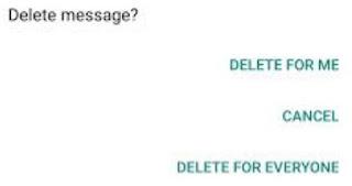 Cara Menggunakan Fitur Delete For Everyone di Whatsapp