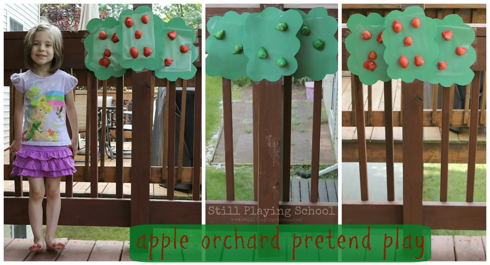 Pretend Play Apple Picking
