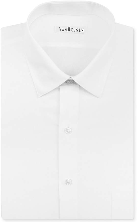 Van Heusen Men's Classic-Fit Herringbone Dress Shirt