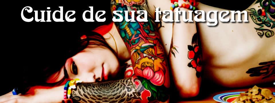 Cuidados com tatuagem