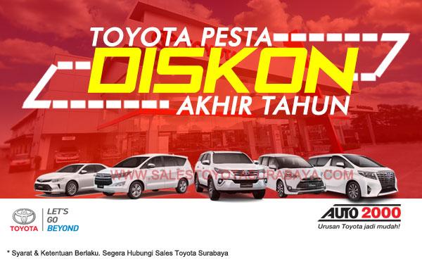 Promo Akhir Tahun Toyota Surabaya