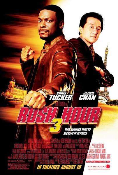 Poster Of Rush Hour 3 (2007) 720p Hindi BRRip Dual Audio Full Movie Download