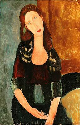 Amedeo Modigliani, Jeanne Hebuterne assise, 1918, Oil on Canvas, 92 x 60.3cm