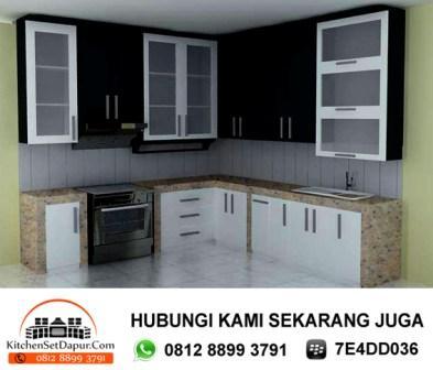 Tukang kitchen set serpong call 0812 8899 3791 desain for Jual kitchen set aluminium