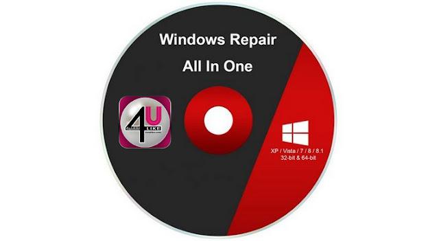 برنامج لإصلاح جميع مشاكل الويندوز بضغطة واحدة Windows Repair Pro