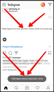 Penyebab dan Cara Mengatasi Instagram Tidak Dapat Menyegarkan Kabar Berita