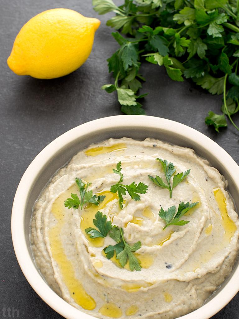 Baba ghanoush wegańska, bezglutenowa roślinny blog kulinarny