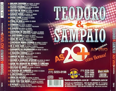 BAIXAR CD E ANOS 30 COMPLETO SAMPAIO TEODORO
