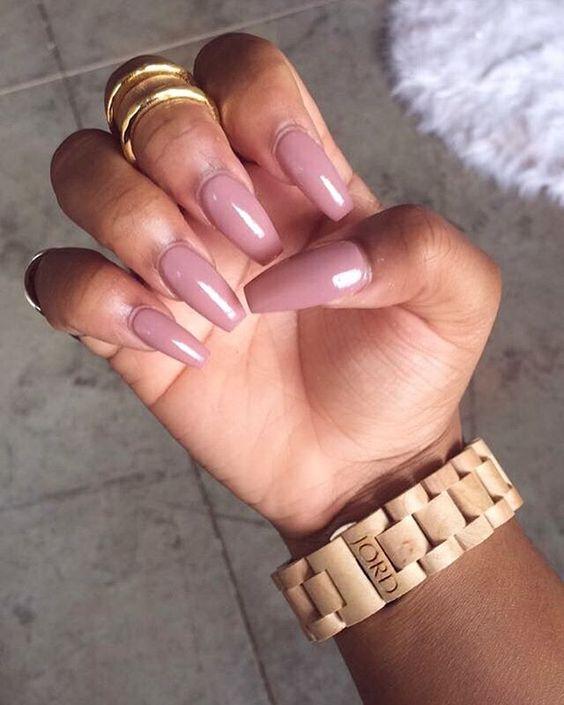The Perfect Pinky Nude Polishes For Brown Skin