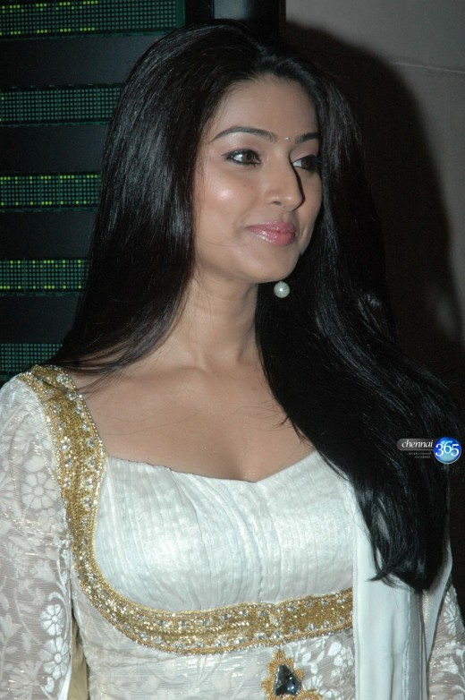 Cute and sexy Sneha looking gorgeous in White Churidar traditional dress