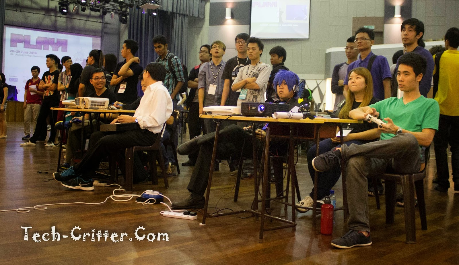 Coverage of PLAY! Convention @ KDU College 186