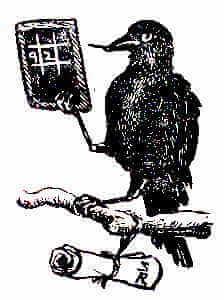 সুকুমার রায় কাকেশ্বর কুচকুচে গণিতবিদ আদিবংশীয় দাঁড়কাক