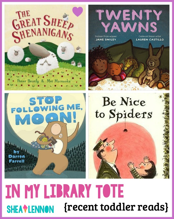 Need some ideas for books to read to your toddler? Here are 4 books that we really enjoyed this month. Click through to learn more about them.