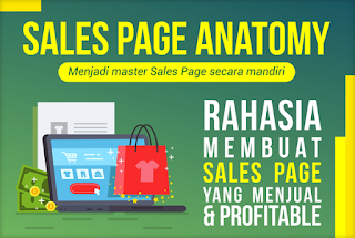 Sales page anatomy landing page