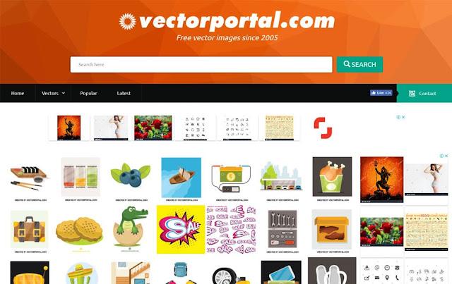 23 WEBSITE PENYEDIA GAMBAR VECTOR GRATIS