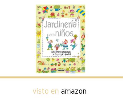 Libro jardinería para niños en Amazon