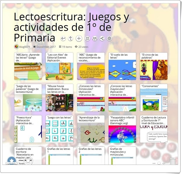 """""""19 juegos y actividades para el desarrollo de la LECTOESCRITURA en 1º de Primaria"""""""